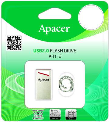 Накопитель APACER AH112 8GB Red 5