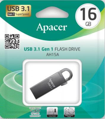 Накопитель APACER AH15A 16GB USB3.1 Ashy 5
