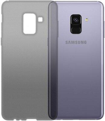 Чехол GlobalCase TPU Extra Slim для Samsung Galaxy A8+ (2018) A730 Dark 1