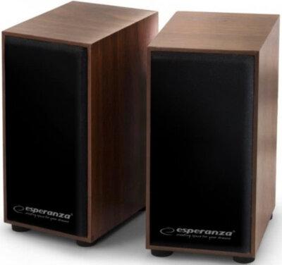 Акустична система 2.0 Esperanza Speakers EP122 Wood 1