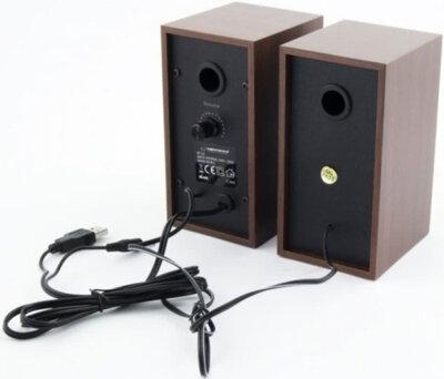 Акустична система 2.0 Esperanza Speakers EP122 Wood 2