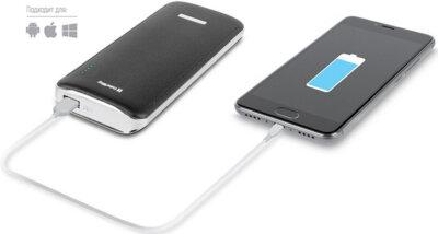 Мобiльна батарея ColorWay 11000 mAh Black 55075 4