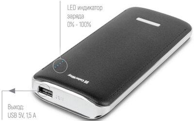 Мобiльна батарея ColorWay 11000 mAh Black 55075 5