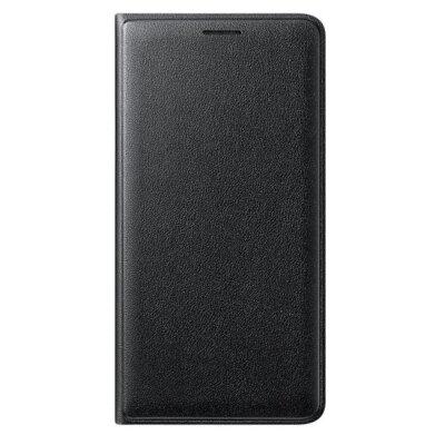 Чехол Samsung Flip Wallet Black для Galaxy J3 (2016) J320 1