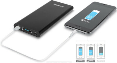 Мобiльна батарея ColorWay 10000 mAh Black QC 3.0 55071 4