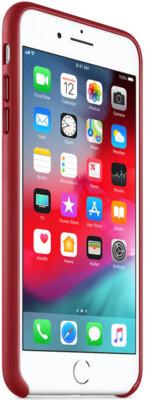Чохол Apple Leather Case PRODUCT RED для iPhone 8 Plus/7 Plus 4
