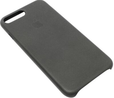 Чехол Apple Leather Case Storm Gray для iPhone 7 3