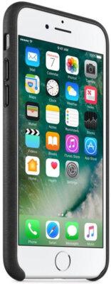 Чохол Apple Leather Case Black для iPhone 7 Plus 4