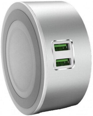 Сенсорний LED світильник/зарядний пристрій ColorWay USB CHARGER 2X USB 7А (CW-CHL22A) 2
