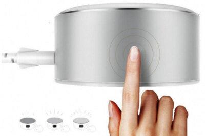 Сенсорний LED світильник/зарядний пристрій ColorWay USB CHARGER 2X USB 7А (CW-CHL22A) 6