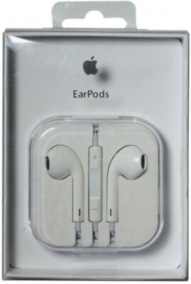 Навушники Apple EarPods with Remote and Mic MD827FE/A 4