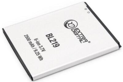 Акумулятор ExtraDigital для Lenovo BL219 3