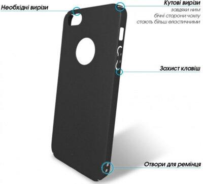 Чехол GlobalCase Cap-X Black для Apple iPhone 5 2