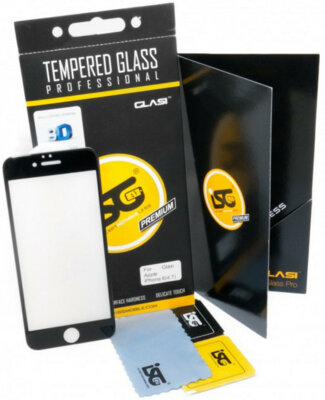 Захисне скло iSG Tempered Glass 3D Full Cover Black для Apple iPhone 6/6s 1