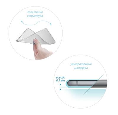 Чохол GlobalCase TPU Extra Slim для Samsung Galaxy Tab A 8.0 T350/T355 Dark 2