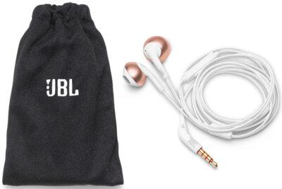 Наушники JBL T205 Rose Gold 5