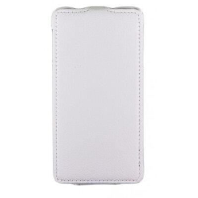 Чехол Carer Base PU для Samsung Galaxy Alpha G850 White 1