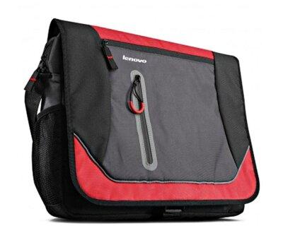 """Сумка для ноутбука Lenovo Sport Messenger 15.6"""" Black Red 1"""