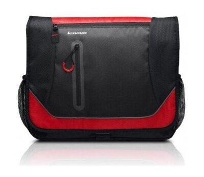 """Сумка для ноутбука Lenovo Sport Messenger 15.6"""" Black Red 2"""