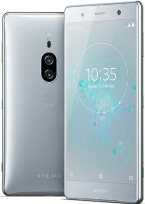 Смартфон Sony Xperia XZ2 Premium H8166 Chrome Silver 3