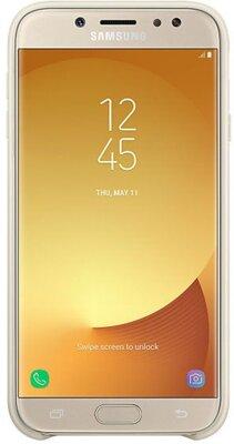 Чехол Samsung Dual Layer Cover Gold для Galaxy J7 (2017) J730 3
