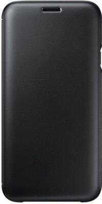 Чохол Samsung Wallet Cover Black для Galaxy J7 (2017) J730 1