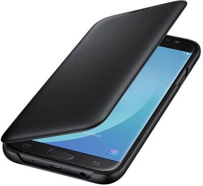 Чохол Samsung Wallet Cover Black для Galaxy J7 (2017) J730 3