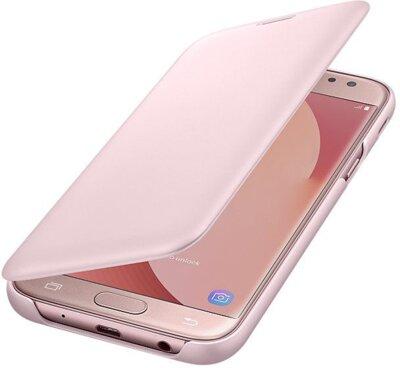 Чохол Samsung Wallet Cover Pink для Galaxy J5 (2017) J530 3