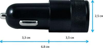 Автомобильное зарядное устройство EasyLink EL-140 black 3