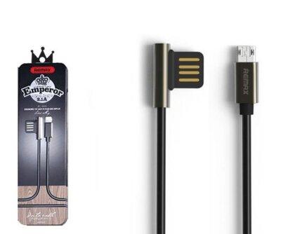 USB Кабель Remax Emperor RC-054m MicroUSB Black 1m 3