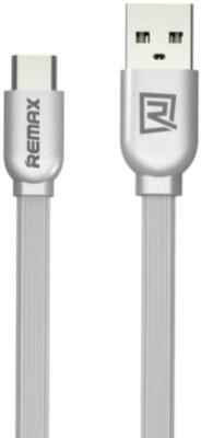 USB Кабель Remax RC-047a Type-C Silver RC-047a 1