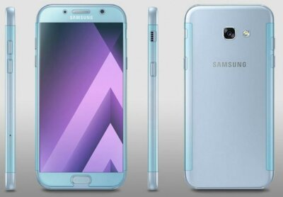 Защитная пленка Ringke Full Cover для Samsung Galaxy A7 (2017) А720 2