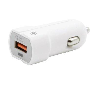 Автомобільний зарядний пристрій Piko CC-301Q (1USB3,0A) White 1