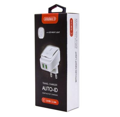 Зарядний пристрій Intaleo TCL242 (2USB2.4A) White 4
