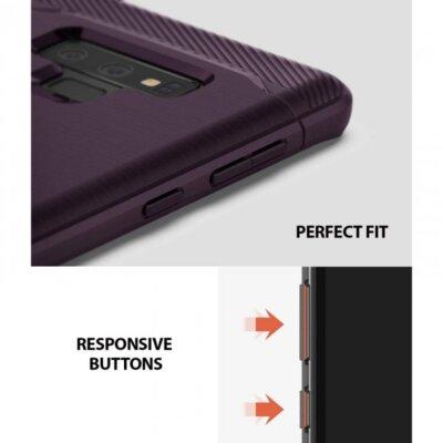 Чохол Ringke ONYX Lilac Purple для Samsung Galaxy Note 9 N960 4