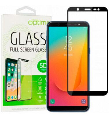 Защитное стекло Optima 5D для Samsung Galaxy J8 2018 J810 Black 1