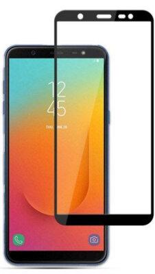 Захисне скло Global TG Full Cover для Samsung Galaxy J8 2018 J810 Black 1