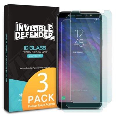 Защитное стекло Ringke Premium Tempered Glass для Samsung Galaxy A6+ A605 1