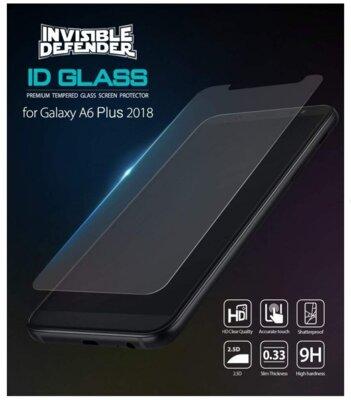 Защитное стекло Ringke Premium Tempered Glass для Samsung Galaxy A6+ A605 5