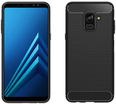 Чехол GlobalCase Leo для Samsung Galaxy A8+ 2018 A730 Black 2