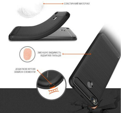 Чохол GlobalCase Leo для Samsung Galaxy J4 J400 Black 4