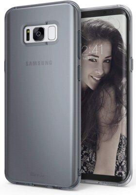 Чохол Ringke AIR Smoke Black для Samsung Galaxy S8 G950 1