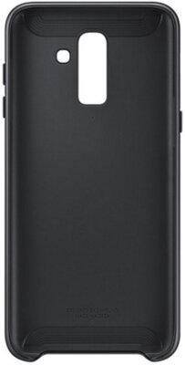 Чехол Samsung Dual Layer Cover для Galaxy J8 2018 J810 Black 2