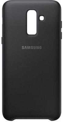 Чехол Samsung Dual Layer Cover для Galaxy J8 2018 J810 Black 1