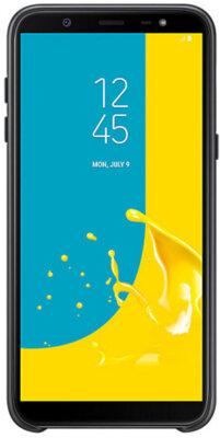 Чехол Samsung Dual Layer Cover для Galaxy J8 2018 J810 Black 9