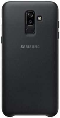 Чехол Samsung Dual Layer Cover для Galaxy J8 2018 J810 Black 10