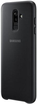 Чехол Samsung Dual Layer Cover для Galaxy J8 2018 J810 Black 12
