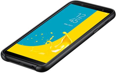 Чехол Samsung Dual Layer Cover для Galaxy J8 2018 J810 Black 13
