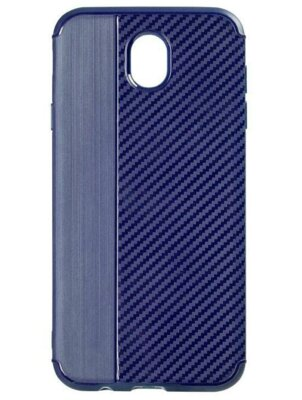 Чохол iPaky Carbon Thin Seria для Samsung Galaxy A6 A600 Navi Blue 1