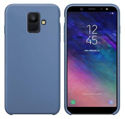 Чехол Intaleo Velvet для Samsung Galaxy A6 A600 Blue 1